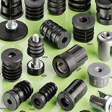 round threaded tube inserts
